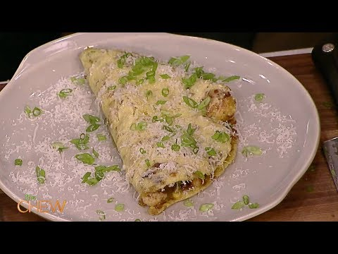 Michael Symon Makes the Perfect Steamed Omelet on The Chew