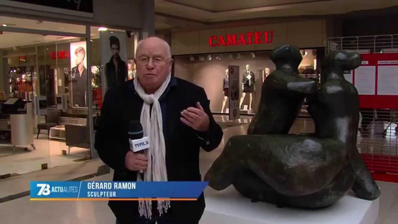 Maurepas : à la rencontre du sculpteur Gérard Ramon