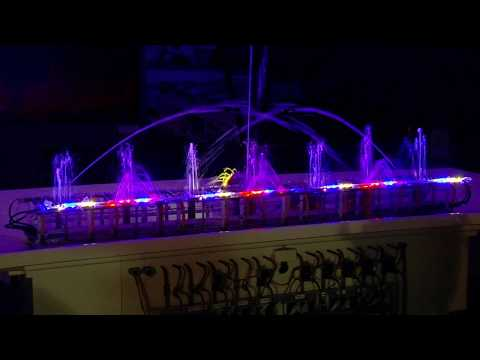 Miniature Grand Haven Musical Fountain Exhibit Opens Scale GHMF