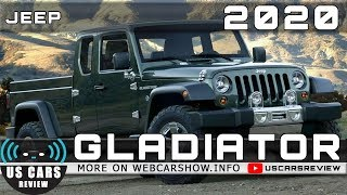 2020 JEEP GLADIATOR Review Release Date Specs Prices