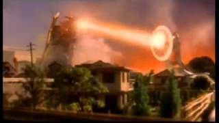Ultraman Gaia vs monster