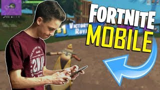 FAST MOBILE BUILDER on iOS / 455+ Wins / Fortnite Mobile + Tips & Tricks!