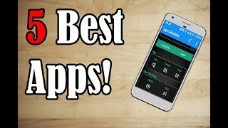 5 Best Android Apps! 😋 🔥
