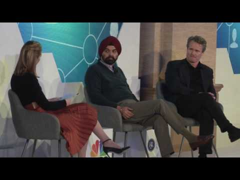Mastercard CEO Ajay Banga and Bank of America CEO Brian Moynihan: Meaningful Innovation Application