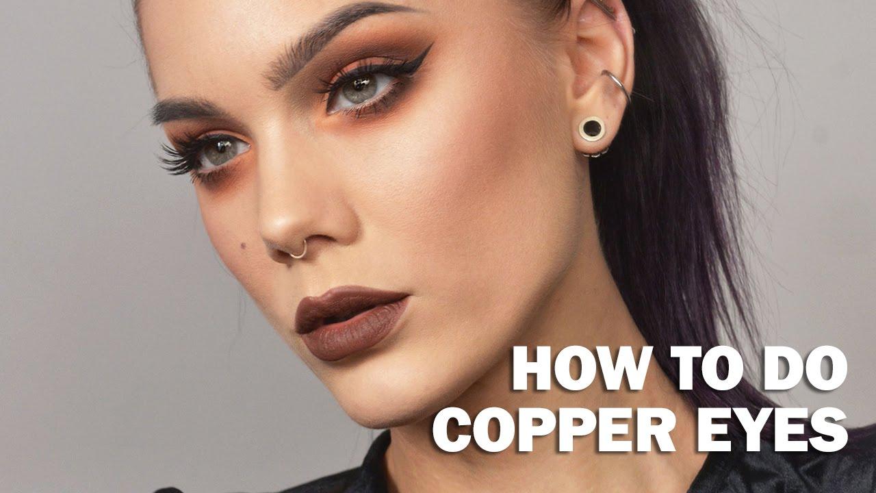 ef6090f294 Copper Eyes - Linda Hallberg Make up tutorials
