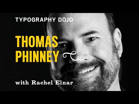 Typography Dojo: Thomas Phinney as Font Detective, Extra Bold