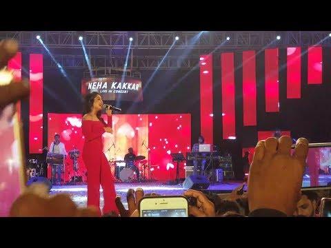 Muskurane Ki Wajah Tum ho by Neha Kakkar with live show 2017    Raipur