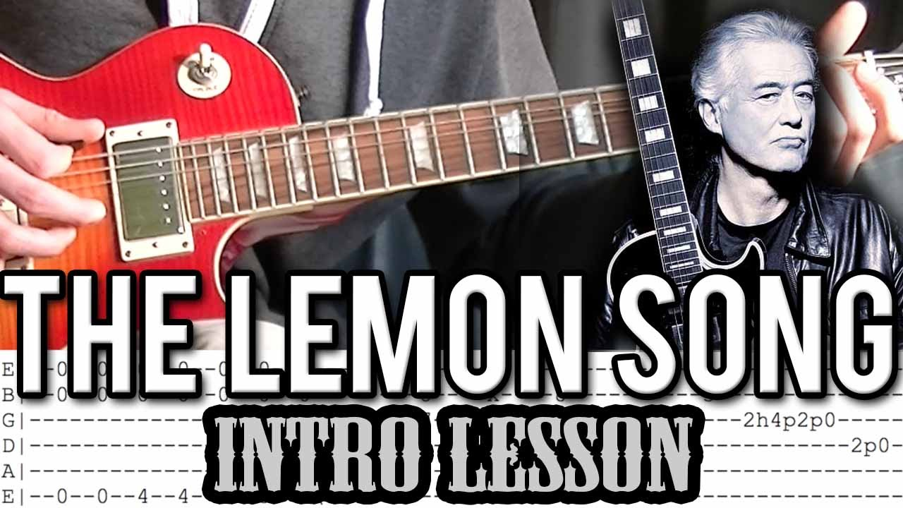Led Zeppelin The Lemon Song : led zeppelin the lemon song intro guitar lesson with tab youtube ~ Hamham.info Haus und Dekorationen
