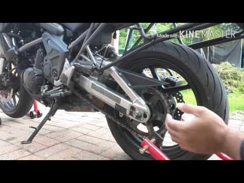 How To Use Motorcycle Paddock Stands On Your Own