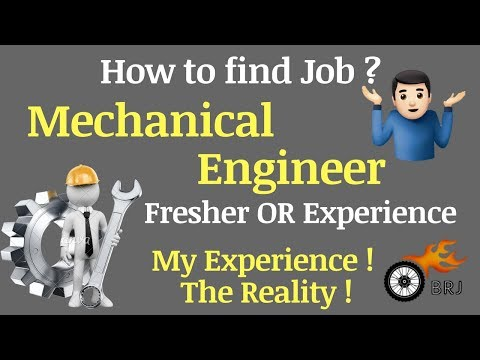 How To Get Job For Mechanical Engineer,Fresher Or Experience ! My Experience ! The Reality!