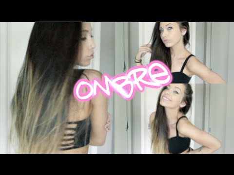 Diy ombre hair step by step good bleach vs bad bleach youtube solutioingenieria Choice Image