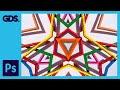 Kaleidoscope style images in Adobe Photoshop