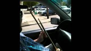 The Cannon drums to AC/DC while driving the SF streets