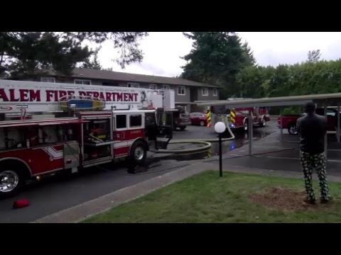 Salem News Journal Live Stream New Salem, Apartment Fire Mallard Landing Apartments 10-18-17