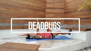 Deadbugs // FIT Happy Hour Movement Demo