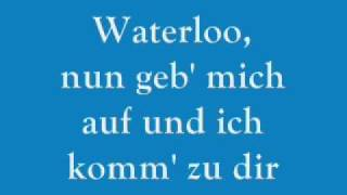 ABBA - Waterloo - German - Deutsch
