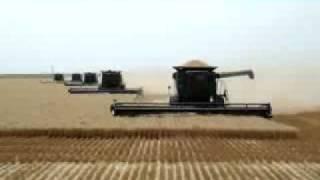 Żniwa w Stanach Zjednoczonych - Rolnictwo to duży interes w USA