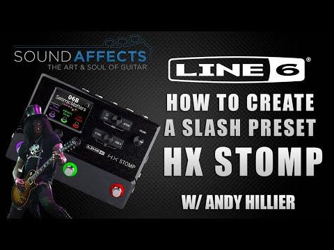HOW TO: Slash Guns 'N' Roses Sweet Child O' Mine Guitar Tone on the Line 6 HX Stomp