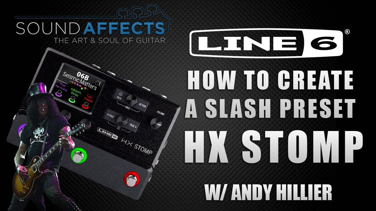 DOWNLOAD: Line 6 Helix Slash Sweet Child O' Mine Preset