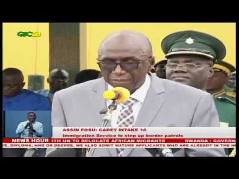Minister of Interior charges Ghana Immigration Service to step up border patrols