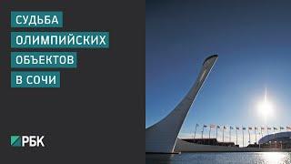 Судьба олимпийских объектов в Сочи(Если мы с вами сейчас поедем в Сочи и захотим погулять по олимпийскому парку, нас поведут по узкой дорожке,..., 2016-04-13T19:46:29.000Z)