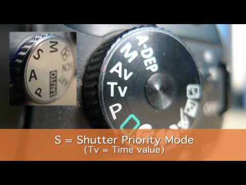 Understanding your digital SLR's mode dial