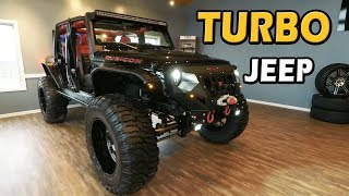 NO EXPENSE SPARED! Turbo Jeep Wrangler Build | Featured! on Truck Central