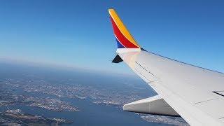 Southwest 737 MAX-8 Takeoff Baltimore