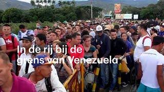 Druk bij de grens: tienduizenden willen Venezuela uit - RTL NIEUWS