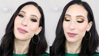 🍾 Makeup Tutorial Capodanno 2019 🎉 | Trucco Oro | GIULIA BENCICH