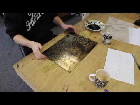 The Etching Process: Adding an Aquatint