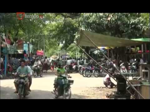 Warga Muslim Burma Myanmar Kembali ke Rumah