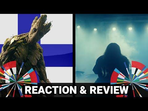 ESC 2021   FINLAND - Blind Channel - Dark Side (Reaction & Review)