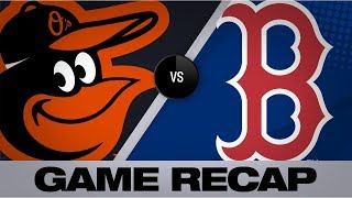 Devers powers Red Sox to 13-7 win   Orioles-Red Sox Game Highlights 8/18/19