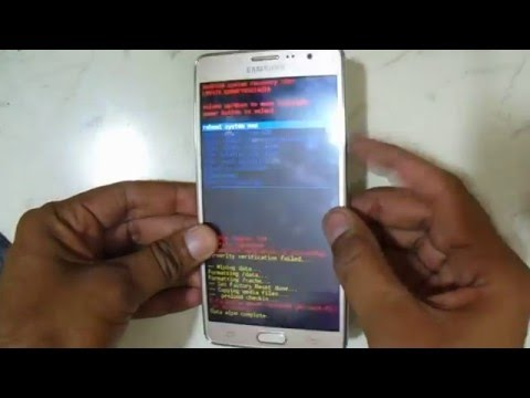Samsung Galaxy On7 SM G600FY Hard Reset And Pattern Reset   Eazy Youtube