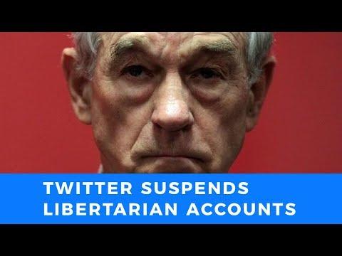 Twitter suspends Ron Paul Institute and Antiwar Directors accounts