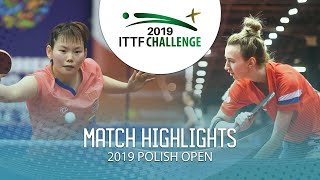 Мария Маланина vs He Zhuojia | Polish Open 2019 (R64)