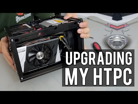 Cleaning & Upgrading My HTPC: Gaming in the Living Room!