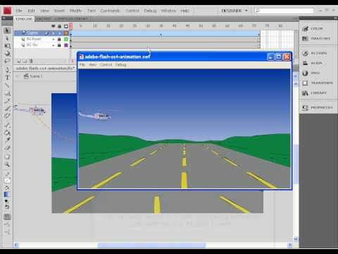 Frye, Anderson (Adobe Academy) / Flash Animation Classwork Projects