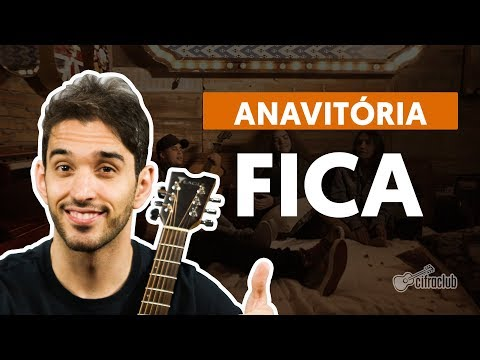 FICA (part. Matheus e Kauan) - Anavitória (aula de violão simplificada)