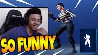 MYTH REACTS *NEW* LAUGH IT UP DANCE/EMOTE- Fortnite Best & Funny Moments (Battle Royale)