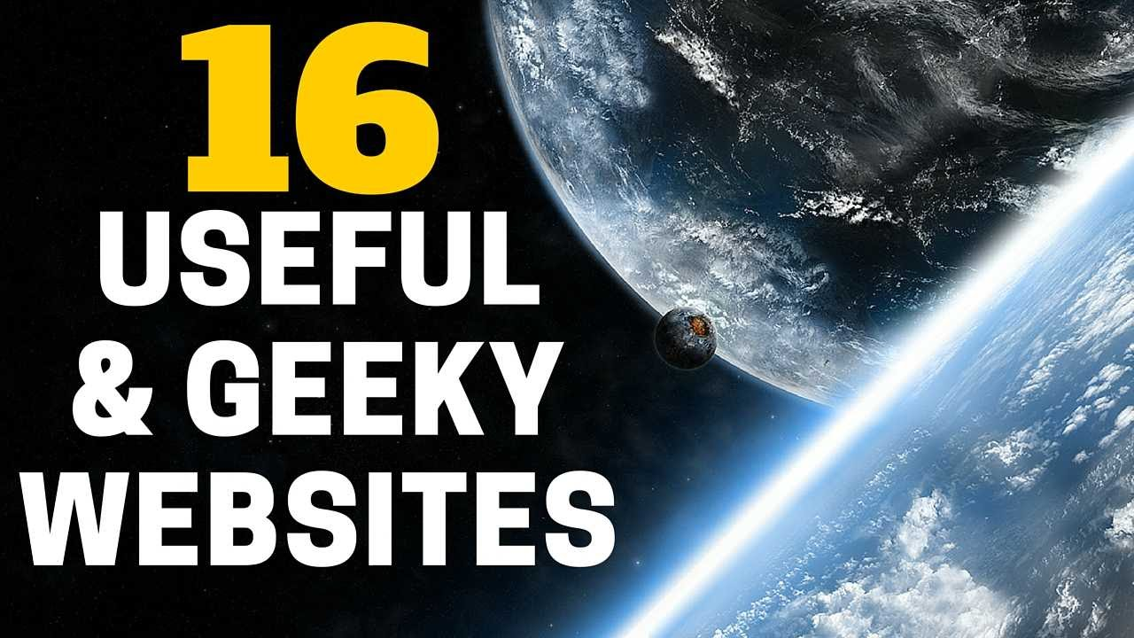 Interesting Websites You Should Know About YouTube - 22 incredibly useful websites you needed but didnt know existed thank me later for 10