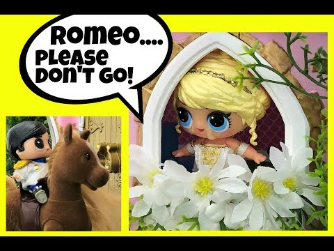Taylor Swift Love Story Custom LOL Surprise Doll Part 2 Doll Story Video by GG