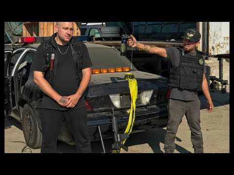 live-searching-police-cars-for-guns-found-pistol-fox-mace-put-to-the-test
