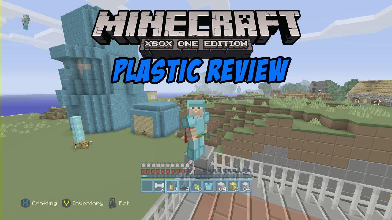 Minecraft Xbox One Texture Packs: PLASTIC TEXTURE - YouTube