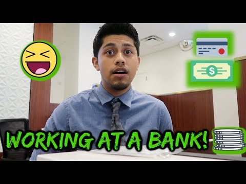 WHAT IS IT LIKE TO WORK AT A BANK? DAY IN THE LIFE OF A BANKER