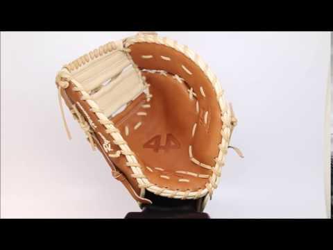 44 Pro Custom Baseball Glove Classic Series 2 C2 Tan Blonde first base mitt
