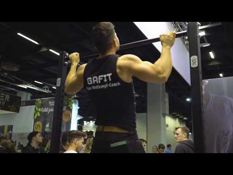 Natural Bodybuilding Team GaFit Meets FIBOPOWER