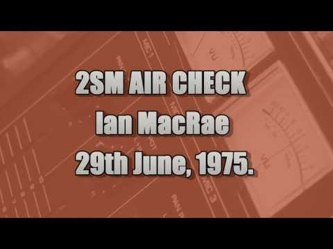 SYDNEY RADIO -   IAN MACRAE AIR CHECK