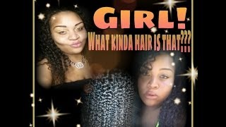★Girl! What kinda hair is  that???★